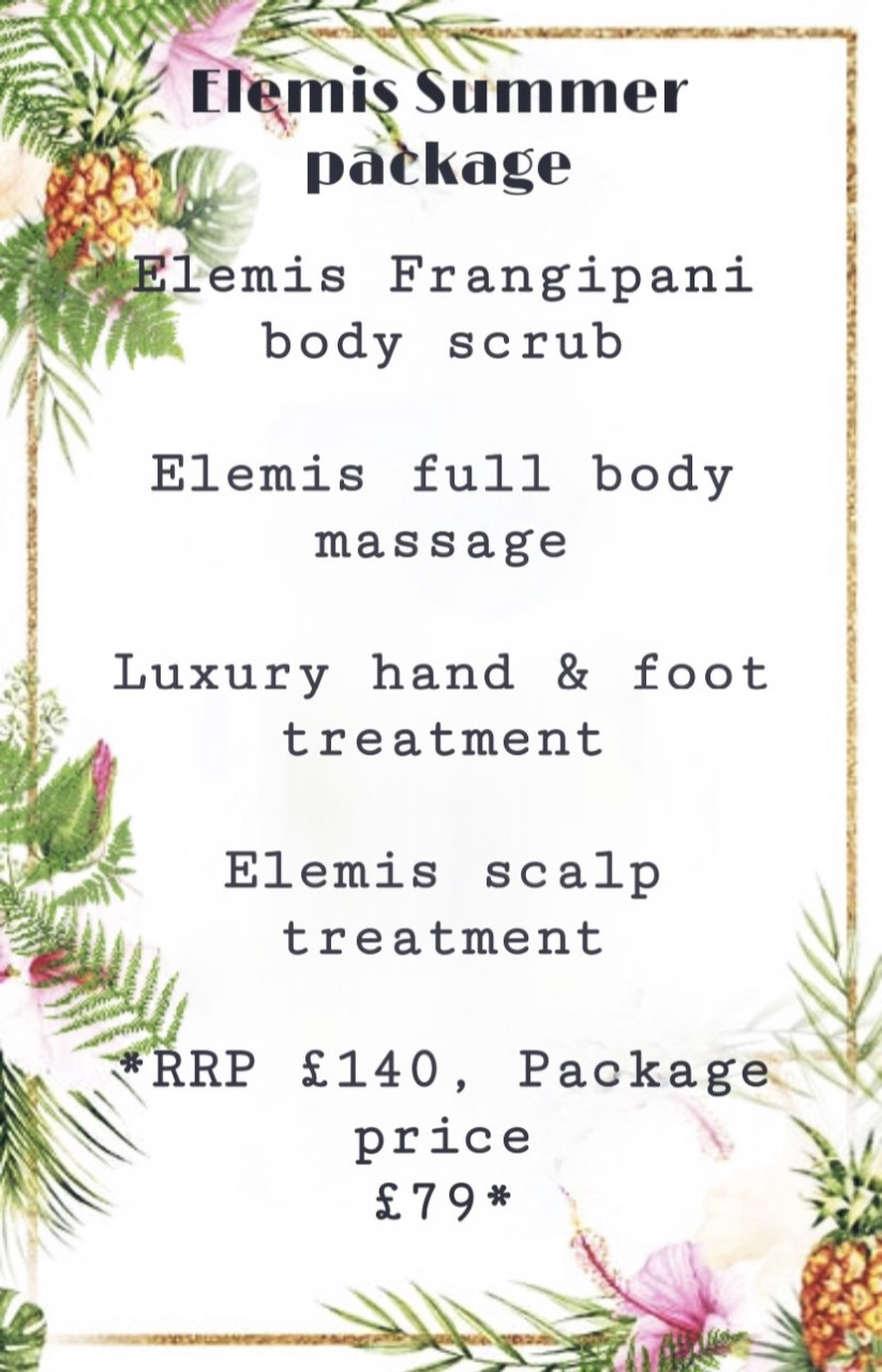 elegant touch beauty special offer summer package